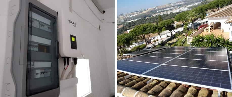 Instalación kit vivienda unifamiliar Málaga