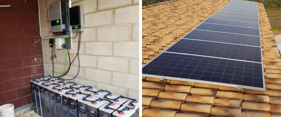 Instalación fotovoltaica en Tarragona