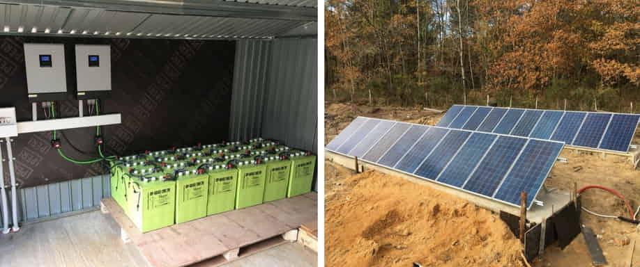 Instalación fotovoltaica Francia