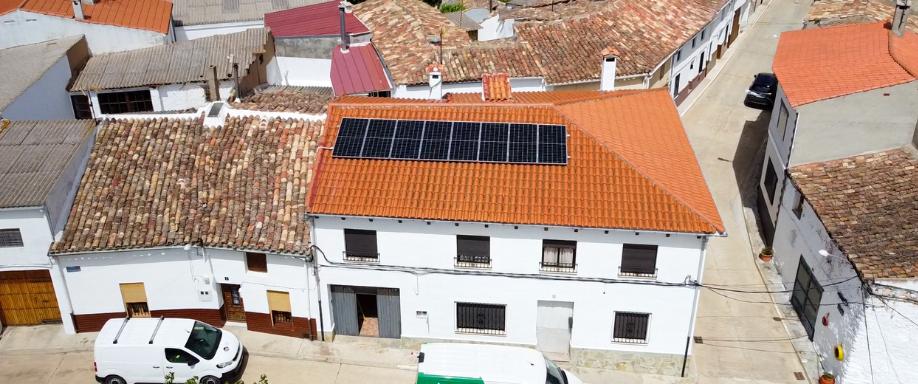 Instalación híbrida con Growatt en Cuenca