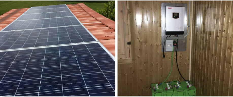 Instalación Kit Solar 8100Wh/día en Burgos