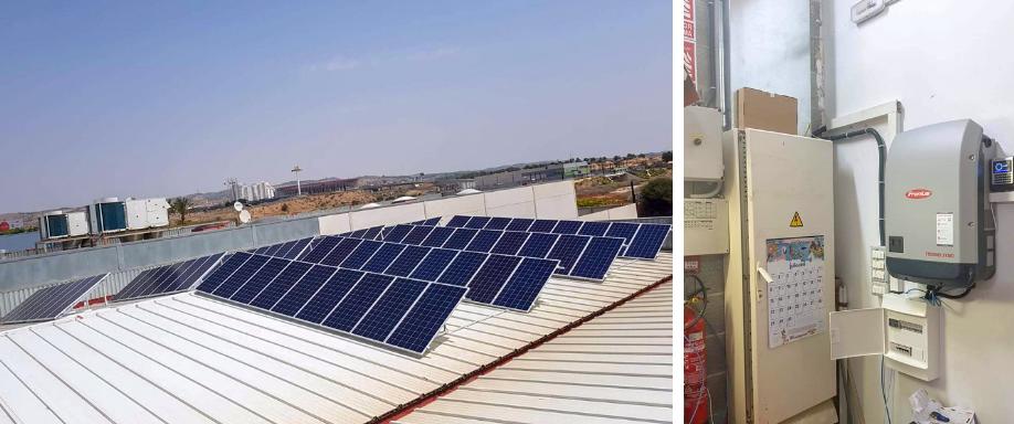 Instalación Solar Trifásica Empresa de Murcia