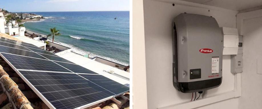 Instalación conexión a red con Fronius en Málaga
