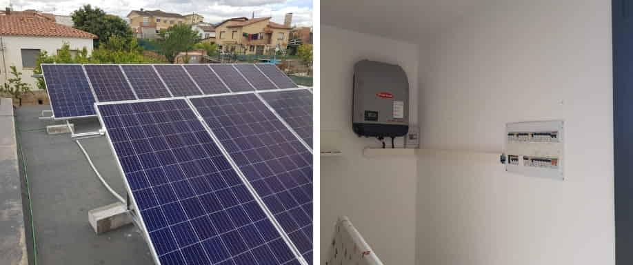 Instalación solar con Fronius en Barcelona
