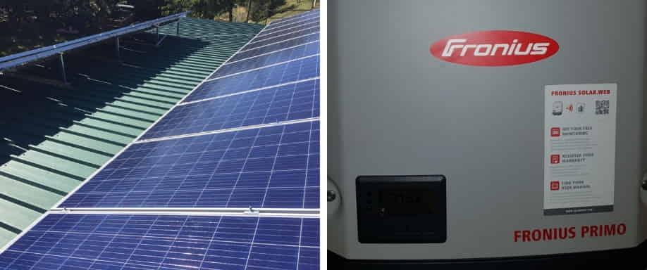 Instalación Solar de Conexión a Red cerca de Girona