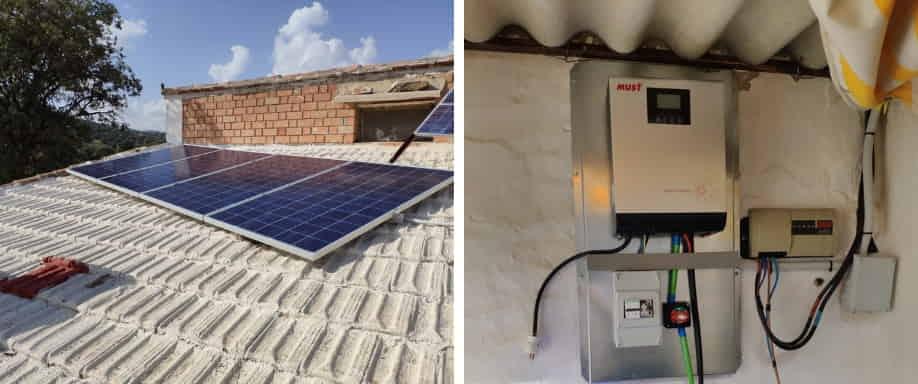 Instalación Kit Aislado de la Red Eléctrica Ciudad Real