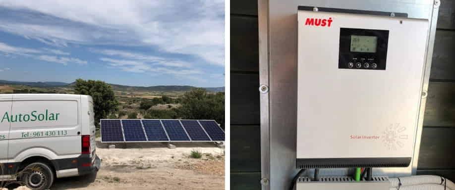 Instalación solar fotovoltaica Cuenca