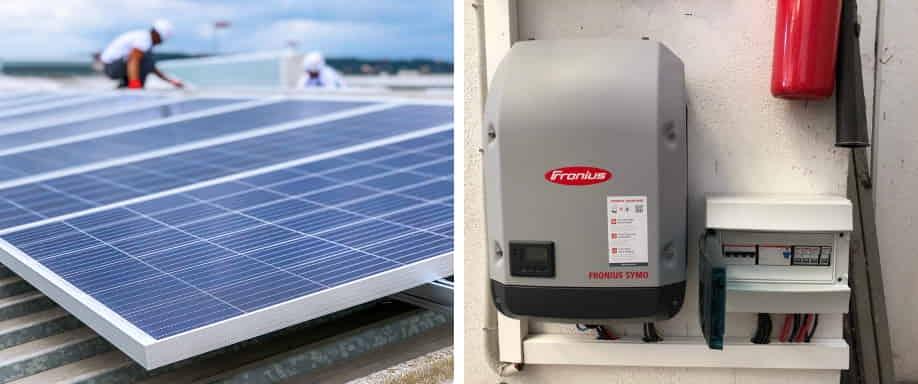 Instalación solar fotovoltaica en Valencia