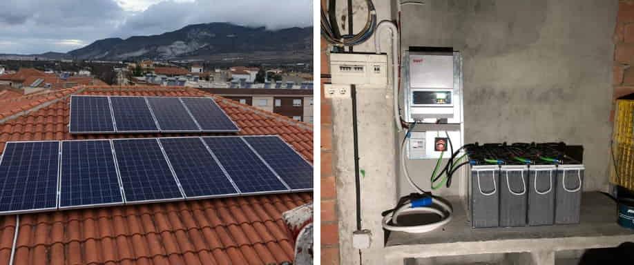 Instalación solar Granada