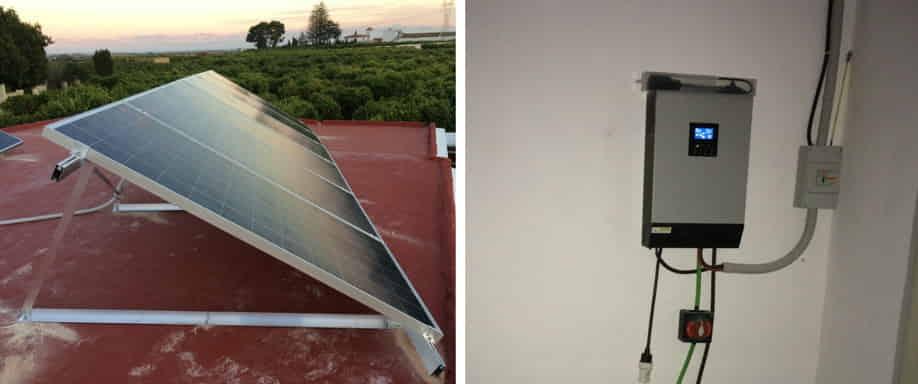 Instalación Fotovoltaica Lérida