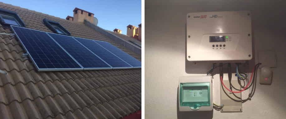 Instalación solar Madrid