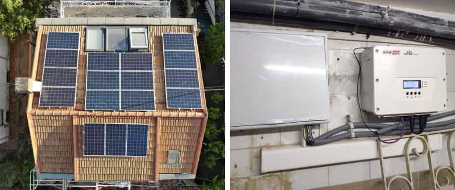 Instalación solar fotovoltaica Madrid kit conexión a red