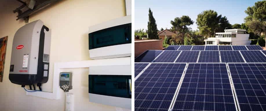 Instalación solar con Fronius en Madrid