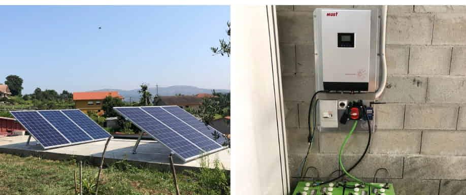 Instalación solar fotovoltaica en Pontevedra