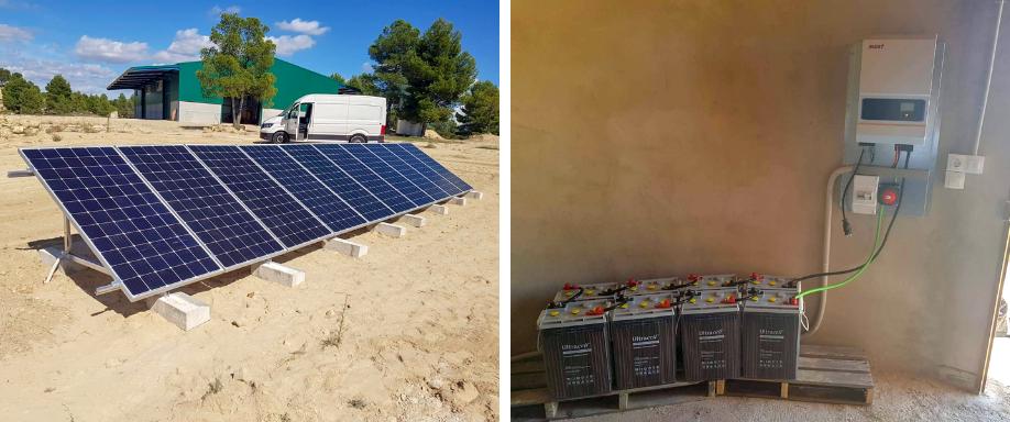 Instalación Kit Solar en Utiel