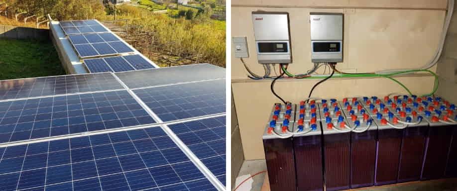Instalación fotovoltaica Vigo