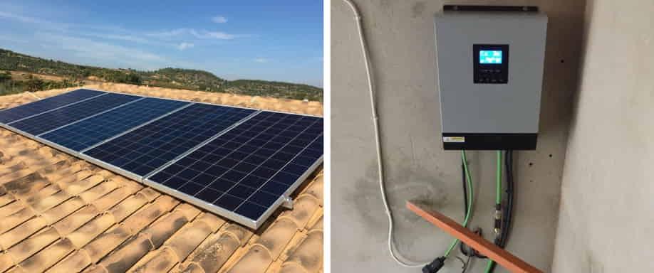 Instalación kit solar ampliado Valencia