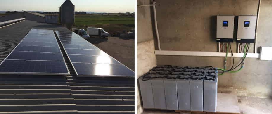 Instalación fotovoltaica Huesca