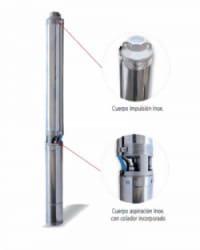Bomba Sumergible IDEAL 0,55kW Monofásica 230V TXI189