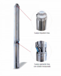 Bomba Sumergible IDEAL 4kW Trifásica 230V SJI50