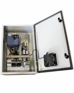 Control Bombeo 400V Variador Fuji 11kWp IP54 200Mt