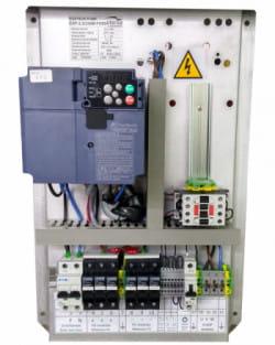 Control Bombeo 400V Variador Fuji 5.5kWp IP20 200M