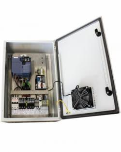 Control Bombeo 400V Variador Fuji 5.5kWp IP54 200M