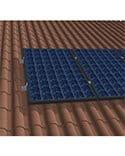 estructura paneles solares sobre teja