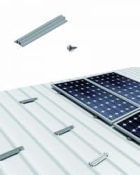 Estructura Cubierta Chapa 2 Paneles Solares