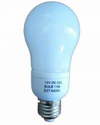 Lámpara 11w 12v Bajo Consumo Con Difusor