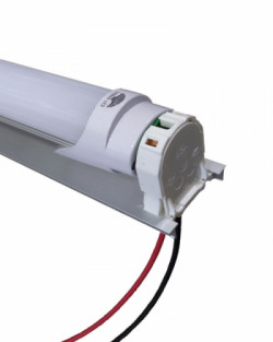 Tubo led 12v 18w 120cm regleta portatubo t8 al mejor - Fluorescente led precio ...