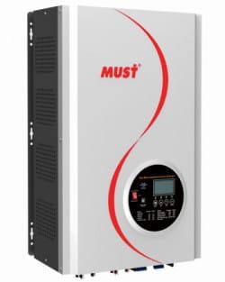 Inversor Cargador 10000W 48V MPPT 120A Must Solar