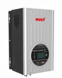 Inversor Cargador 1500W 12V MPPT 80A Must Solar