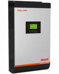 Inversor Cargador 3000VA 24V MPPT 60A Must Solar