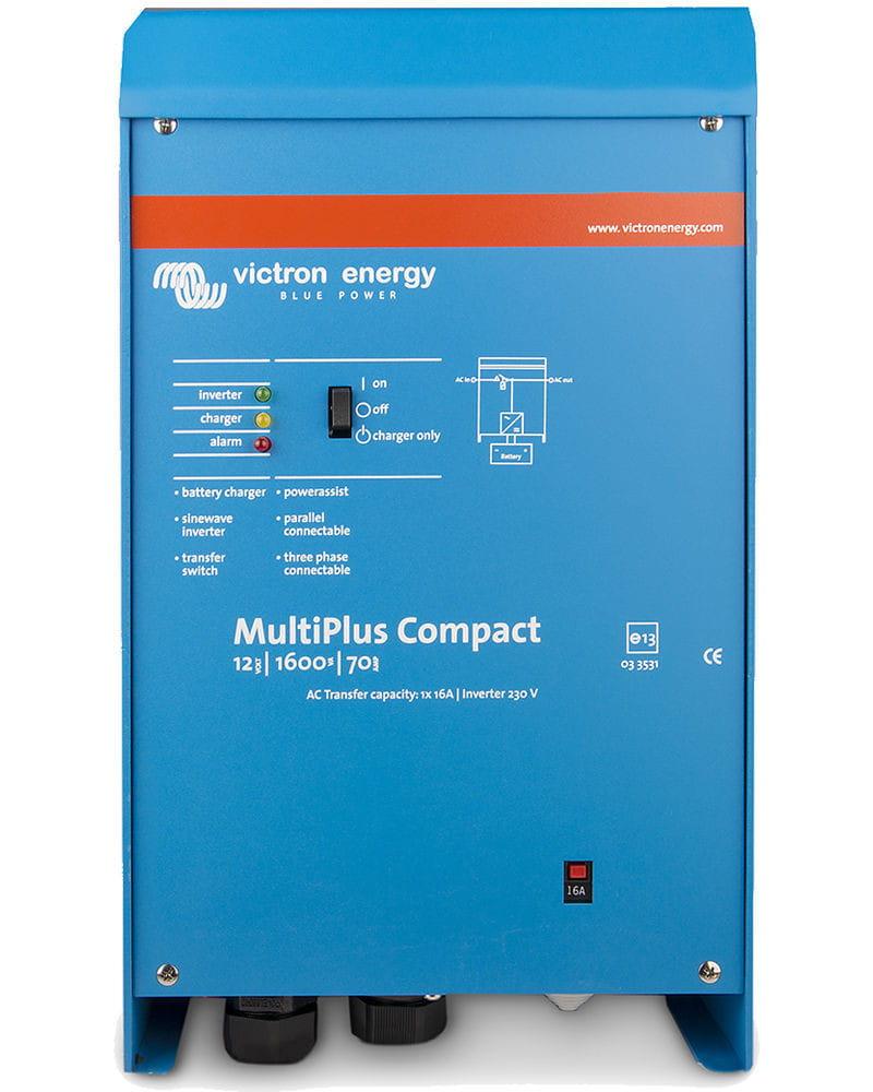 Inversor Victron Multiplus C 12V 1600VA 70+16A