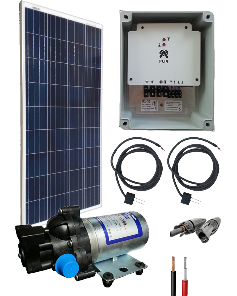 Kit Bombeo Solar  12V uso intermitente