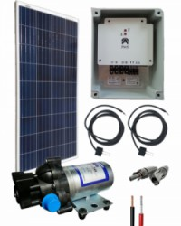 Kit Bombeo Solar  12V uso intermitente