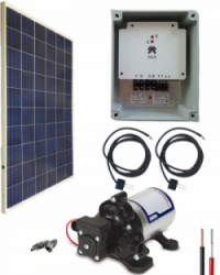 Kit Bombeo Solar  24V uso intermitente