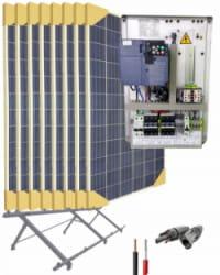 Kit Bombeo Solar para bomba trifásica 230V hasta 2cv