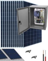 Kit Bombeo Solar para bomba trifásica 230V hasta 4cv
