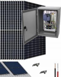 Kit Bombeo Solar para bomba trifásica 230V hasta 5.5cv