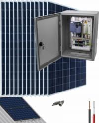 Kit Bombeo Solar para bomba trifásica 400V hasta 4cv