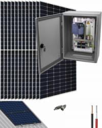 Kit Bombeo Solar para bomba trifásica 400V hasta 5.5cv