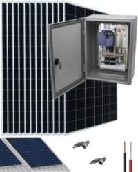 Kit Bombeo Solar para bomba trifásica 400V hasta 7.5cv