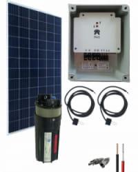 Kit Bombeo Solar  sumergible y hasta 70m de altura