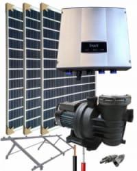 Kit Depuradora Solar 0.5cv Monofásica para piscina