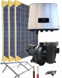 Kit Depuradora Solar 0.75cv Monofásica para piscina