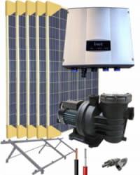 Kit Depuradora Solar 1.5cv Monofásica para piscina