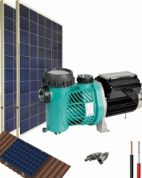 Kit Depuradora Solar 500W 48V 2700Whdia de uso directo