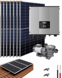 Kit Depuradora Solar con bomba 1.5cv para piscina